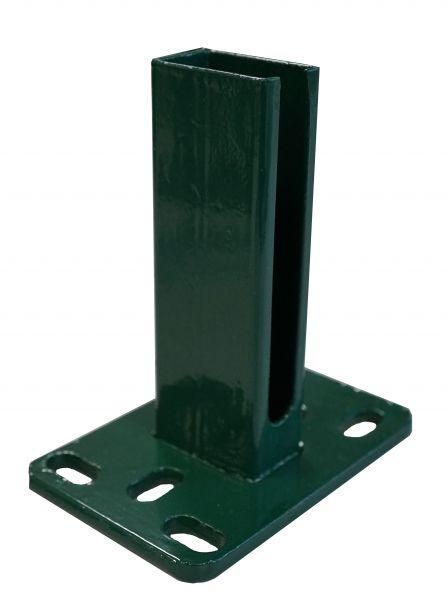 Montagefußplatte grün