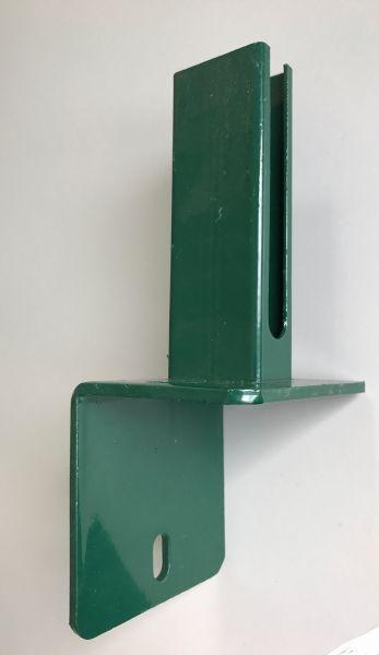 L Stein Montagefussplatte Von Ztm Ztm Zaun Tor Und Metallbau