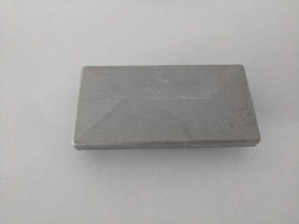 Aluminium-Pfostenkappe verzinkt mit Überstand